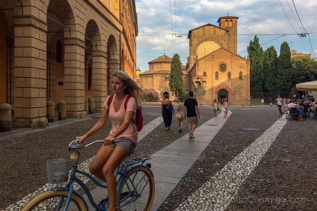 Italia Bologna Bicicleta Santo Stefano