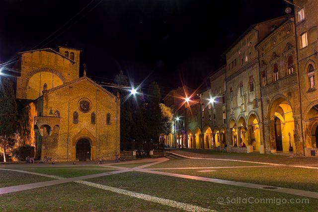 Italia Bologna Bolonia Piazza Santo Stefano