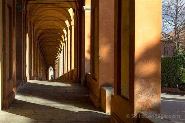 Italia Bologna Bolonia San Luca Arcos
