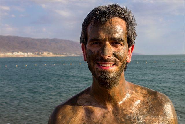 Jordania Mar Muerto Barro Cara