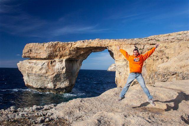 Malta Gozo Azure Window Salto
