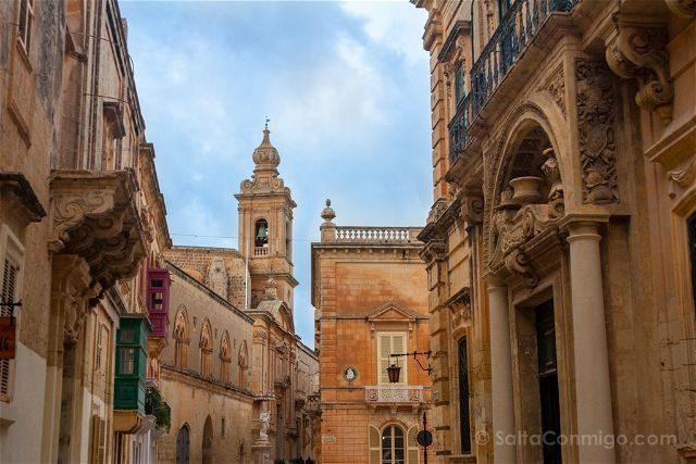 Malta Mdina Calles