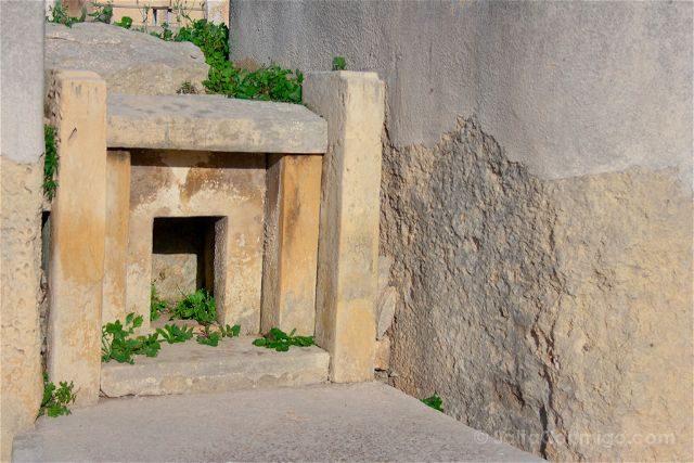 Malta Tarxien Templo Altar