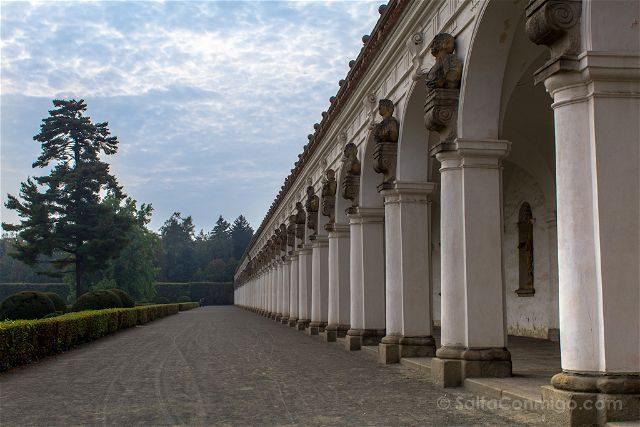 Republica Checa Kromeriz Jardin Flores Kvetna Zahrada Galeria