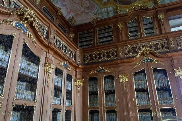 Republica Checa Kromeriz Palacio Arzobispal  Castillo Biblioteca