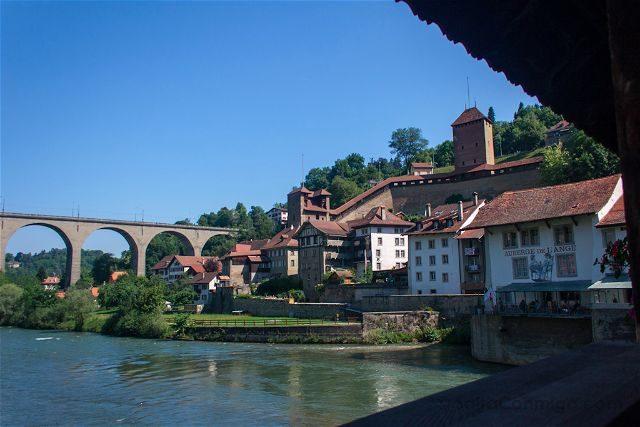 Suiza Friburgo Puente Berne