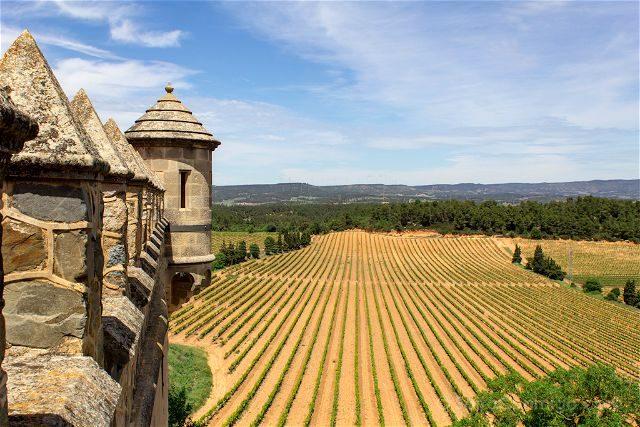 Taragona Castell Riudabella Vides Paisaje Murallas