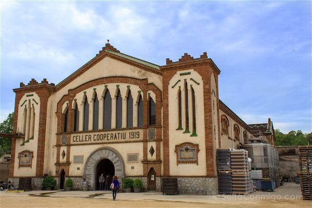 Taragona Falset Celler Catedral Vino Modernista