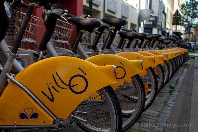 Que Ver en Bruselas Bicicletas