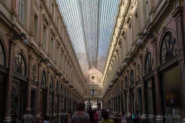Que ver en Bruselas Galeries Royales Saint-Hubert