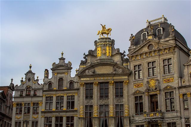 Que ver en Bruselas Grand Place Gremios