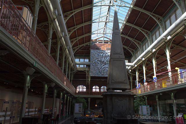 Que Ver en Bruselas Halles Saint-Gery Interior