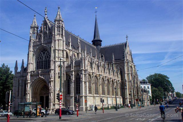 Que Ver en Bruselas Iglesia Notre Dame Sablon