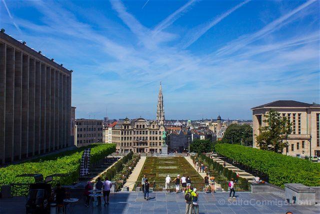 Belgica Bruselas Mont des Arts