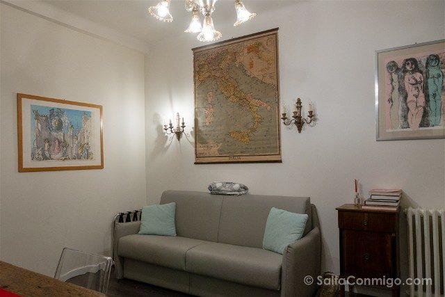 Dormir en Bolonia L8 Boutique Apartments Salon