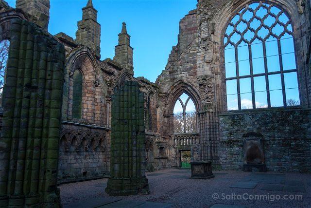 Escocia Edimburgo Abadia Holyrood