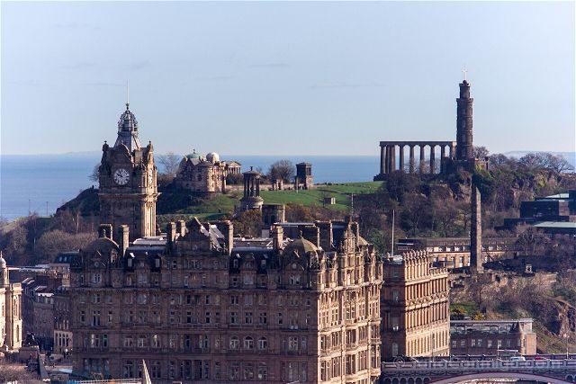 Escocia Edimburgo Calton Hill