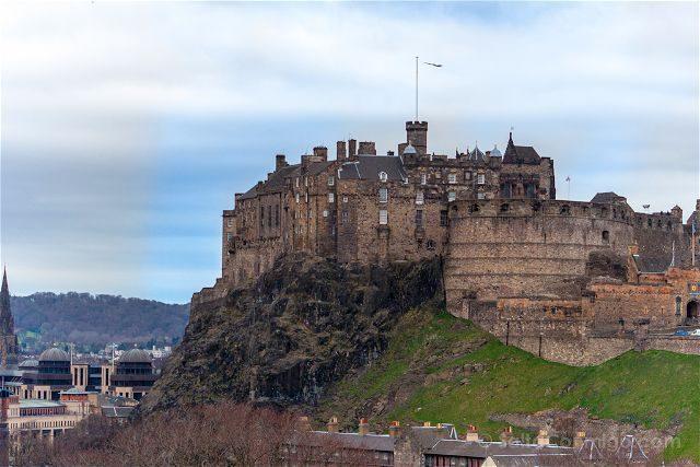 Escocia Edimburgo Castillo Vista