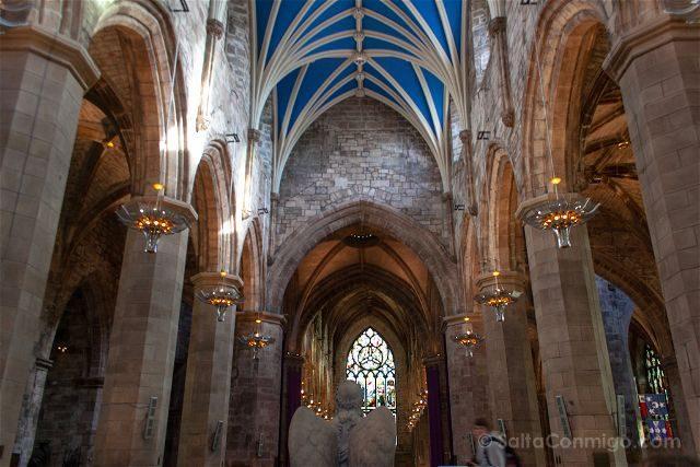 Escocia Edimburgo Catedral Saint Siles Interior