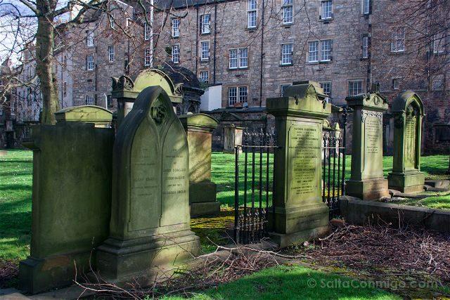 Escocia Edimburgo Cementerio Greyfriars