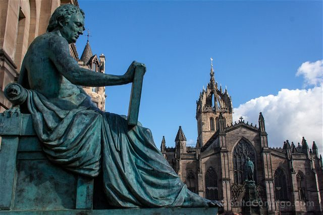 Escocia Edimburgo David Hume Saint Giles Cathedral