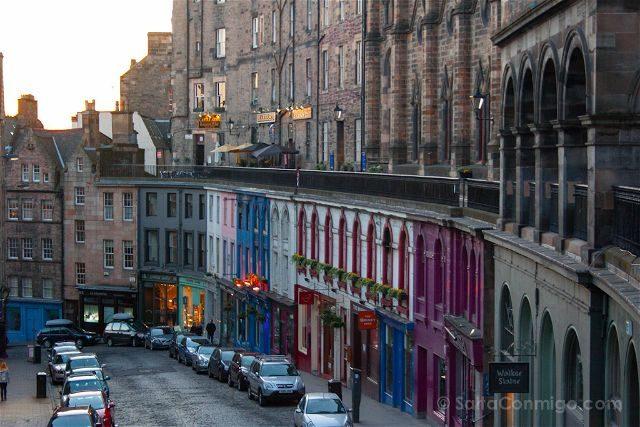 Escocia Edimburgo Victoria Street