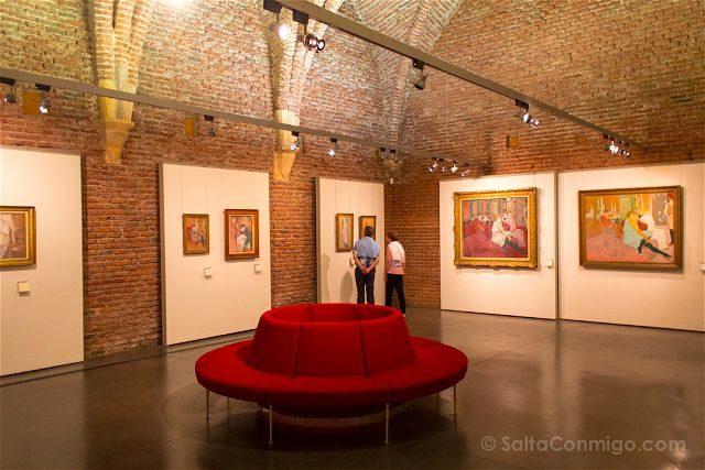 Francia Midi-Pyrenees Albi Palacio Berbie Museo Toulouse Lautrec