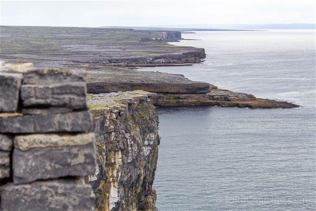 Irlanda Islas Aran Inis Mor Acantilados Dun Aengus