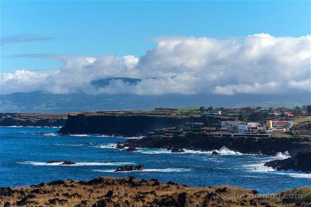 Portugal Azores Sao Miguel Ilha Verde Acantilados