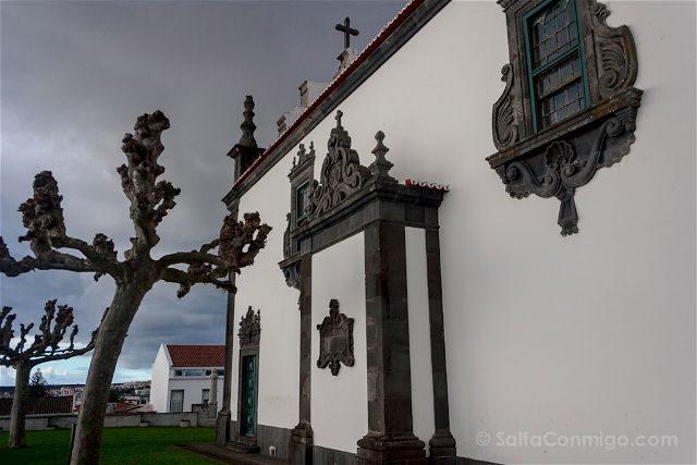 Portugal Azores Sao Miguel Ilha Verde Ponda Delgada Ermita Madre Deus
