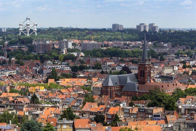 Que Ver En Bruselas Basilica Sagrado Corazon Vista Panoramica