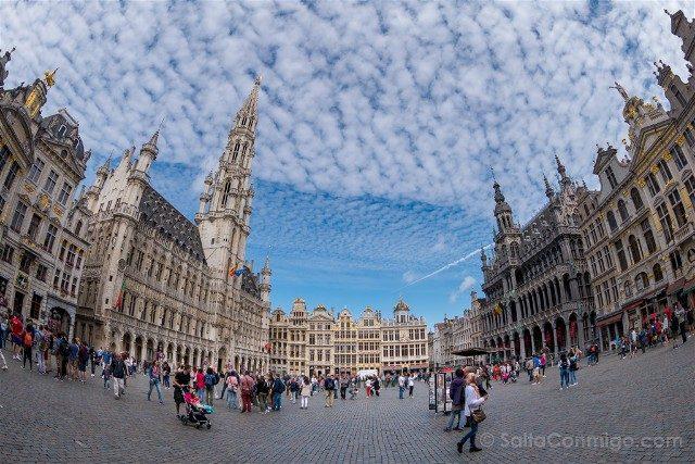 Que Ver En Bruselas Grand Place Ojo Pez