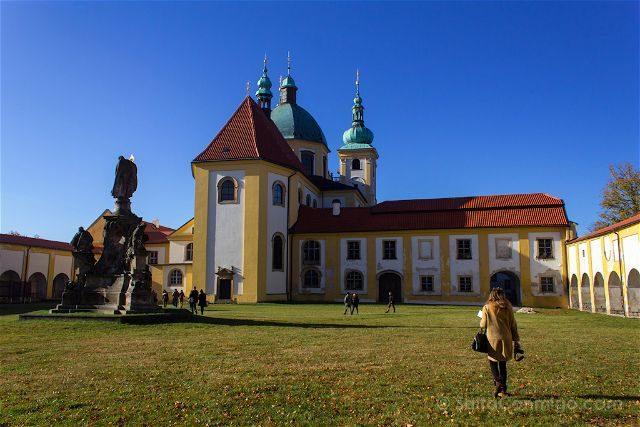 Republica Checa Olomouc Colina Santa Claustro