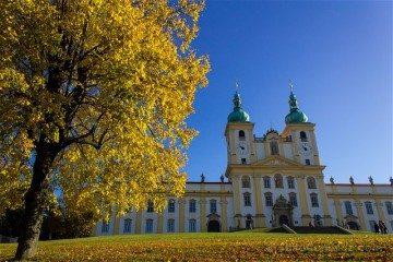 Republica Checa Olomouc Colina Santa Exterior Amarillo