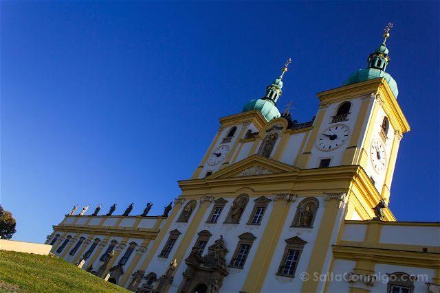 Republica Checa Olomouc Colina Santa Exterior