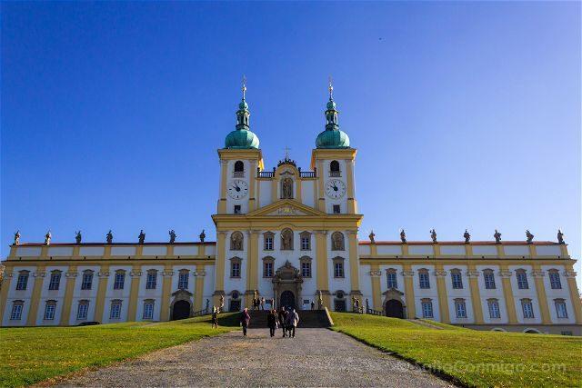 Republica Checa Olomouc Colina Santa Fachada
