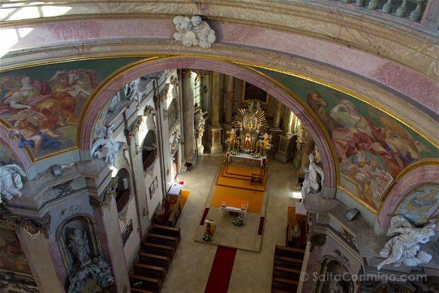 Republica Checa Olomouc Colina Santa Interior Arriba