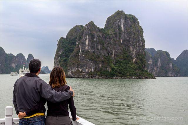 Vietnam Bahia Halong Bay Abrazo