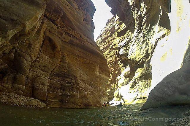 Jordania Wadi Mujib Barranquismo Canyoning