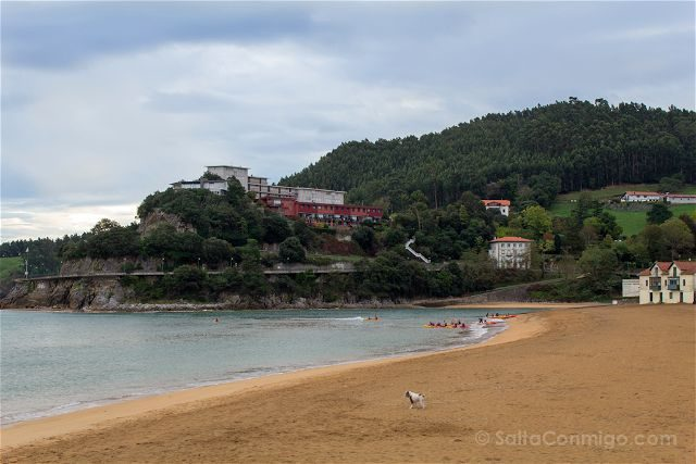 Bizkaia Costa Vasca Lekeitio Playa Isuntza