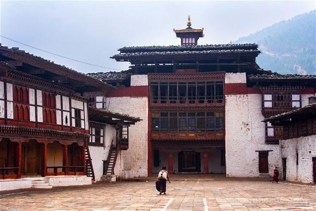 Butan Wangdiphodrang Dzong