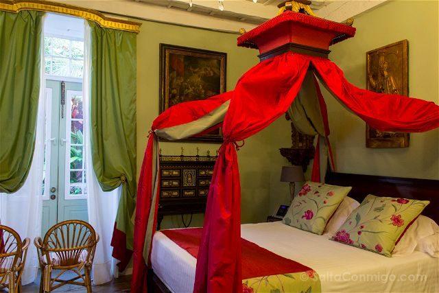 Canarias La Palma Tazacorte Hotel Hacienda Abajo Habitacion