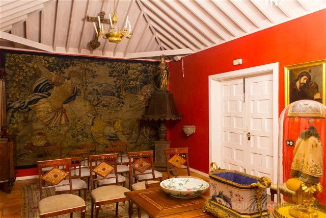 Canarias La Palma Tazacorte Hotel Hacienda Abajo Sala Reuniones