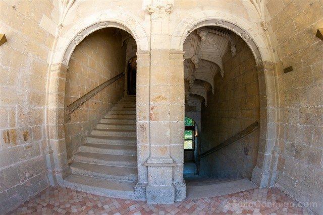 Castillo de Azay-le-Rideau Escalera