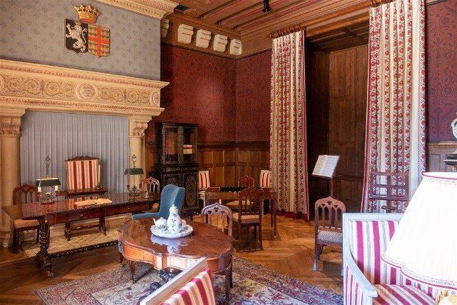 Castillo de Azay-le-Rideau Salon Biencourt