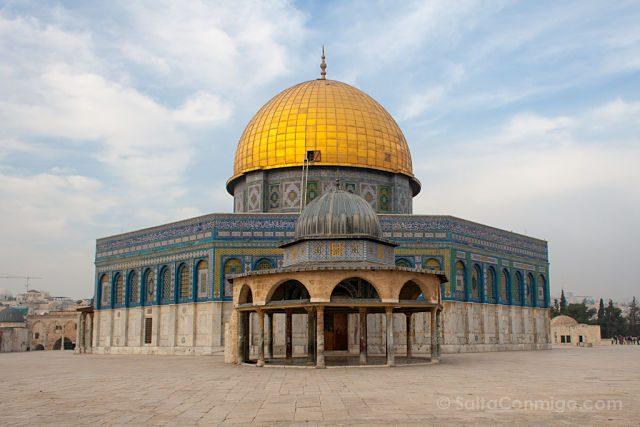 Israel Jerusalen Explanada Mezquitas Cupula Roca