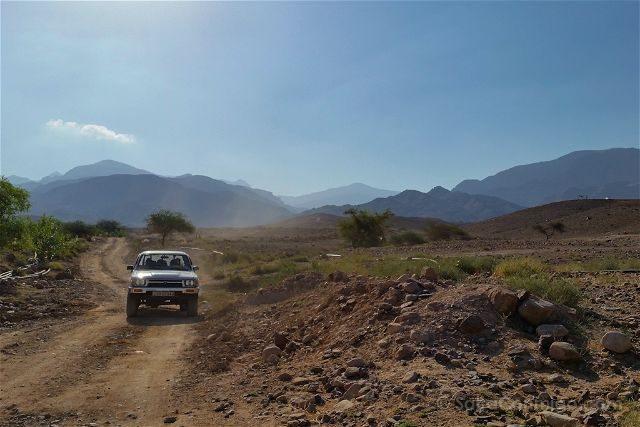 Jordania Reserva Dana 4x4