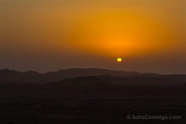 Jordania Reserva Dana Atardecer