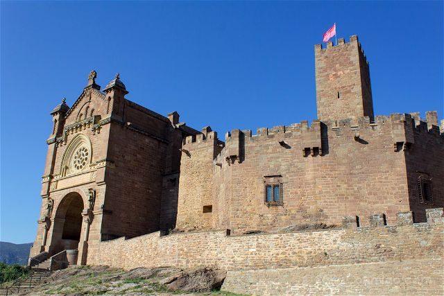 Navarra Javier Castillo Basilica Exterior