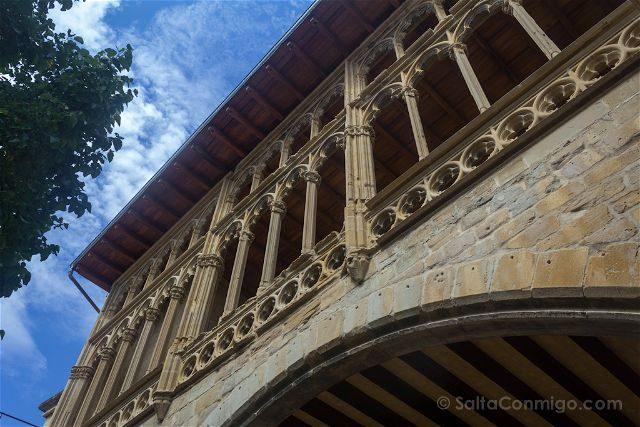 Navarra Olite Palacio Real Terraza